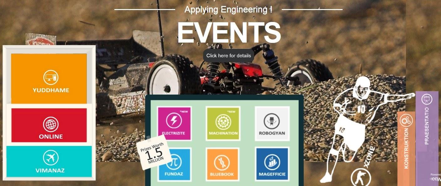 AARUSH'14 - National Level Tech Fest by SRM University