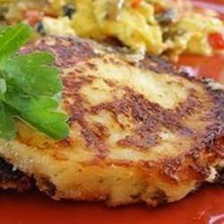 Crispy Mashed Potato Pancake