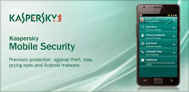 مكافح الفايروسات العملاق Kaspersky Mobile Security