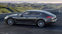 Porsche Panamera with Plug-in Hybrid drive side