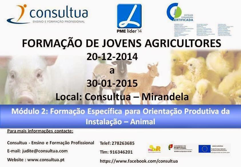 Formação para Jovens Agricultores em Mirandela