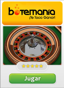Jugar a la Ruleta Online en Botemanía