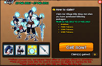claim ice village elite ninja set