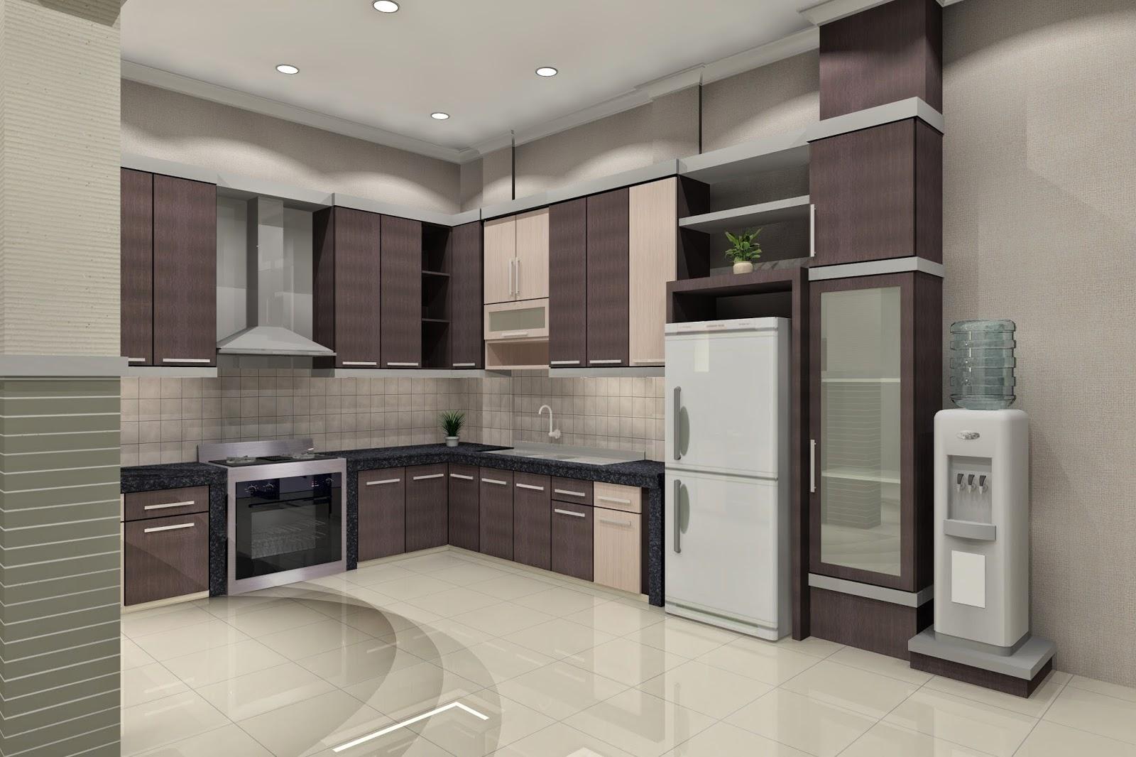 Desain Dapur Rumah Bernuansa Elegan