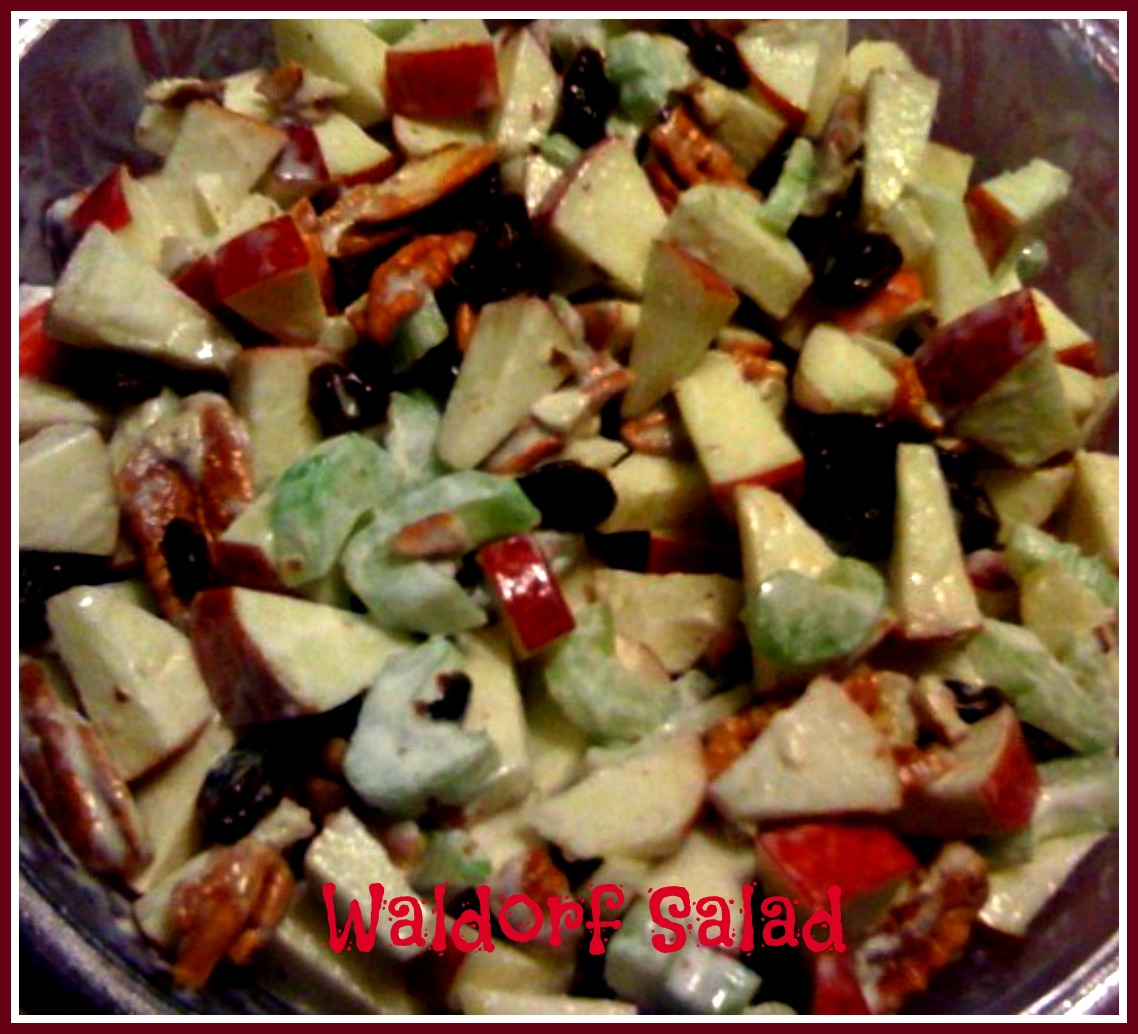 Sweet Tea and Cornbread: Waldorf Salad...or Apple Walnut Salad!