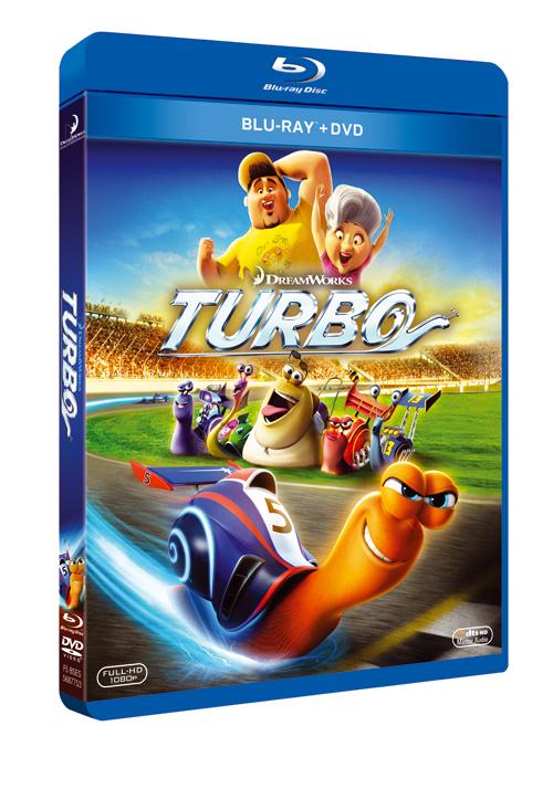 Turbo arranca en Blu-ray, 3D, DVD y Digital HD en Febrero