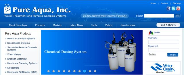 Water Filtration Systems from Pure Aqua Inc