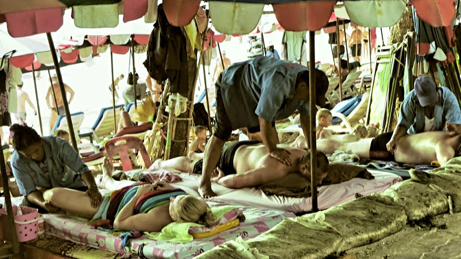 Pattaya Beach Massage