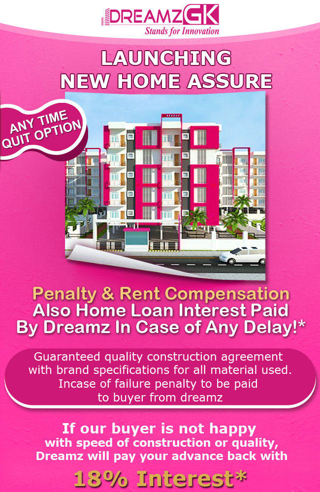 Dreamz Infra Reviews - New Home Offer