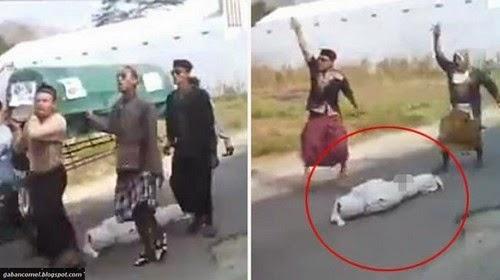 Video Ngeri Jenazah Jatuh Dari Keranda Menjadi Bahan Gurauan