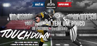 """Concurso Cultural  """"Você no Super Bowl"""""""