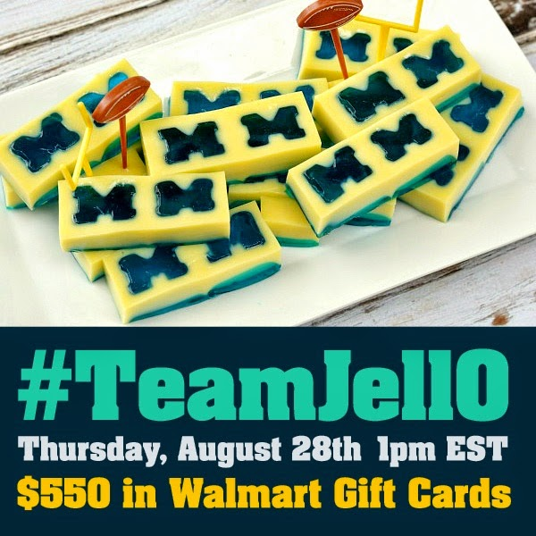 #TeamJellO-Twitter-Party 8-28-14 1 PM ET