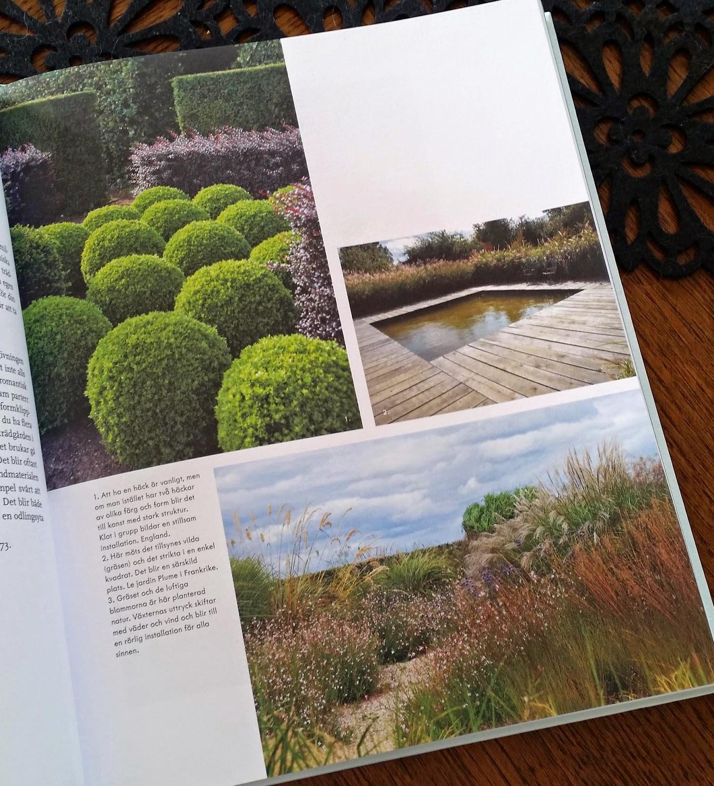 Trädgårdsform - vackrare trädgård med arkitektens verktyg, inspiration