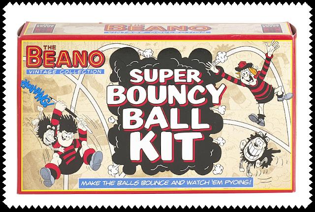 The Beano Bouncy Ball Kit