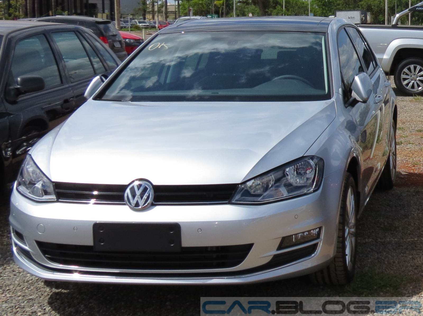 Novo VW Golf 2015 - Prata Sargas