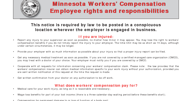 How Do I Know If My Employer Has Minnesota Workers ...
