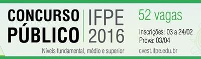 Apostila Concurso Instituto Federal de Pernambuco (IFPE) 2016