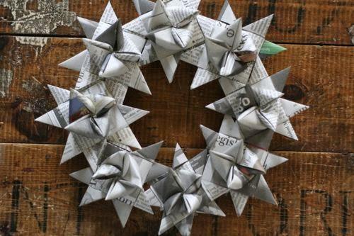 Fotos de guirlanda de estrelas para o Natal