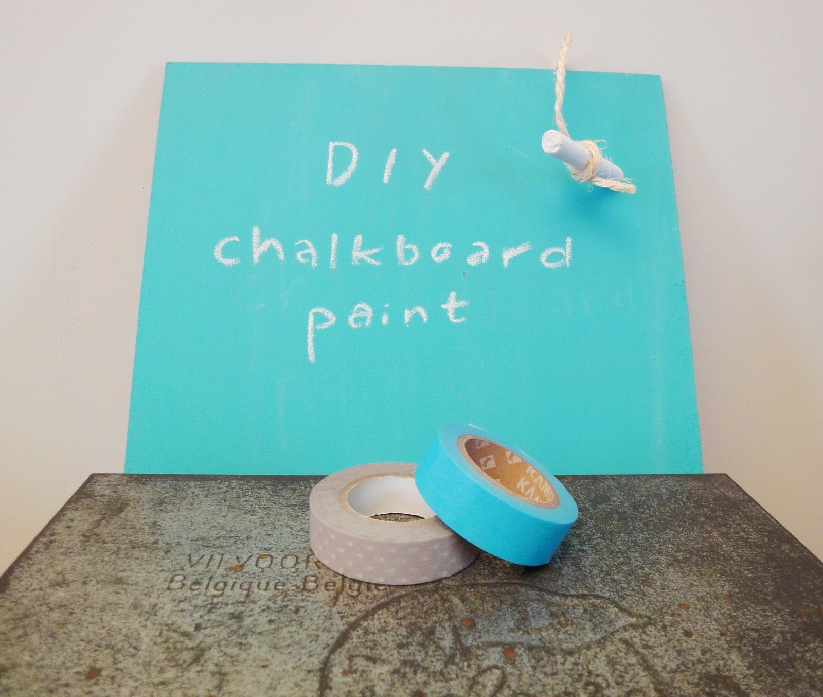 Diy Chalkboard Paint Casual Cottage