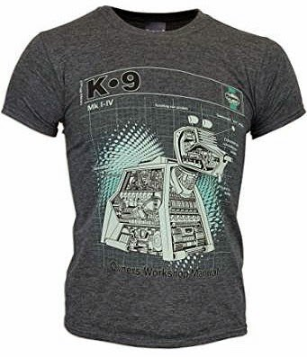 Doctor Who K-9 Haynes Manual T-shirt