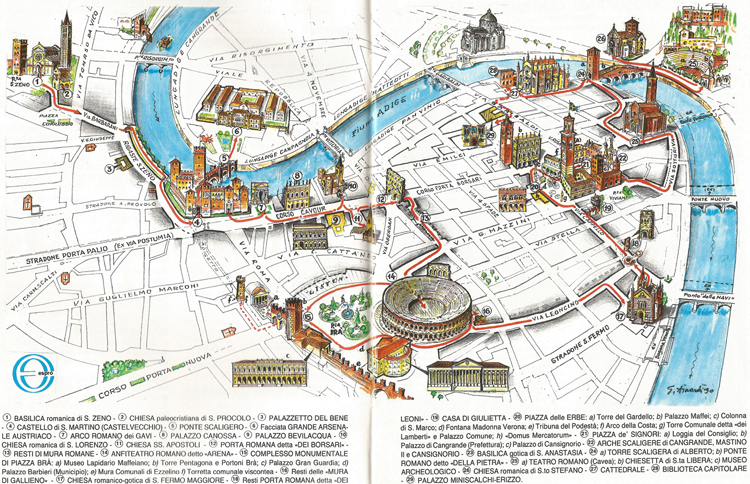 verona tourism map - photo#9