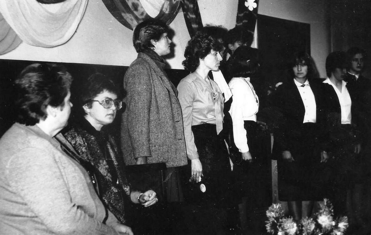Tikšanās ar Māru Zālīti kādā pasākumā 1980-tajos gados