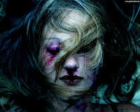 Colorful Goth Girl - Dark Gothic Wallpapers