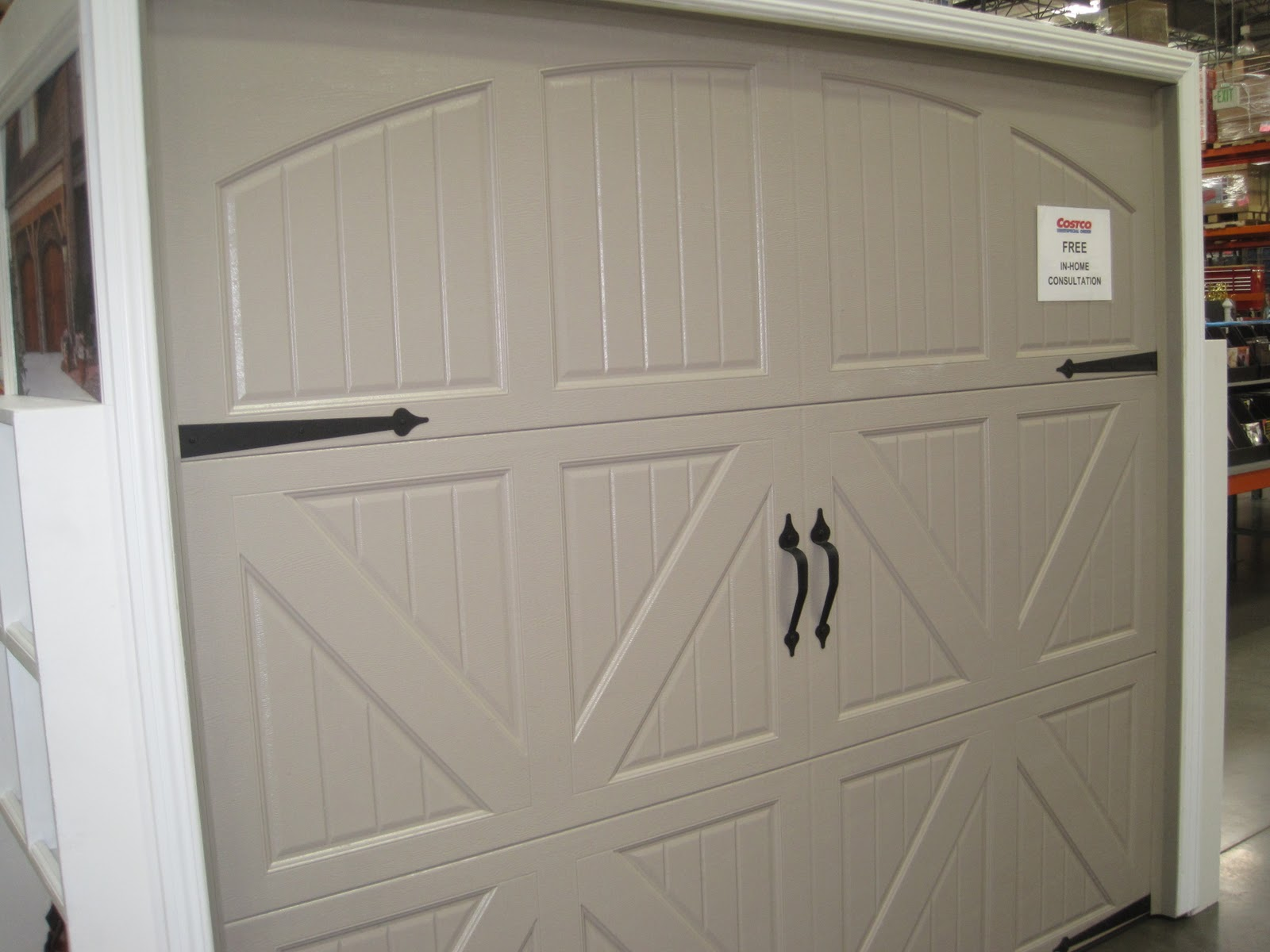 1200 #5F4938 Garage Doors Unlimited: Garage Door Road Show At Costco! pic Costco Doors 47611600