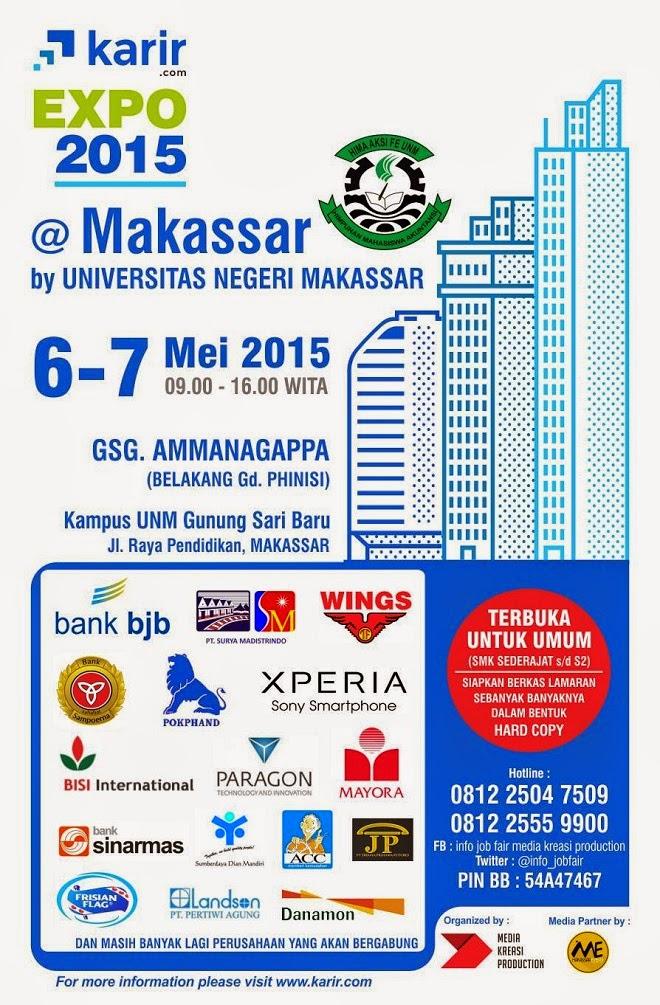 Job Fair Makassar Karir Expo Mei 2015