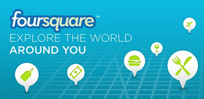 تحميل برنامج فورسكوير للايفون و البلاك بيري و الاندرويد Download Foursquare Free