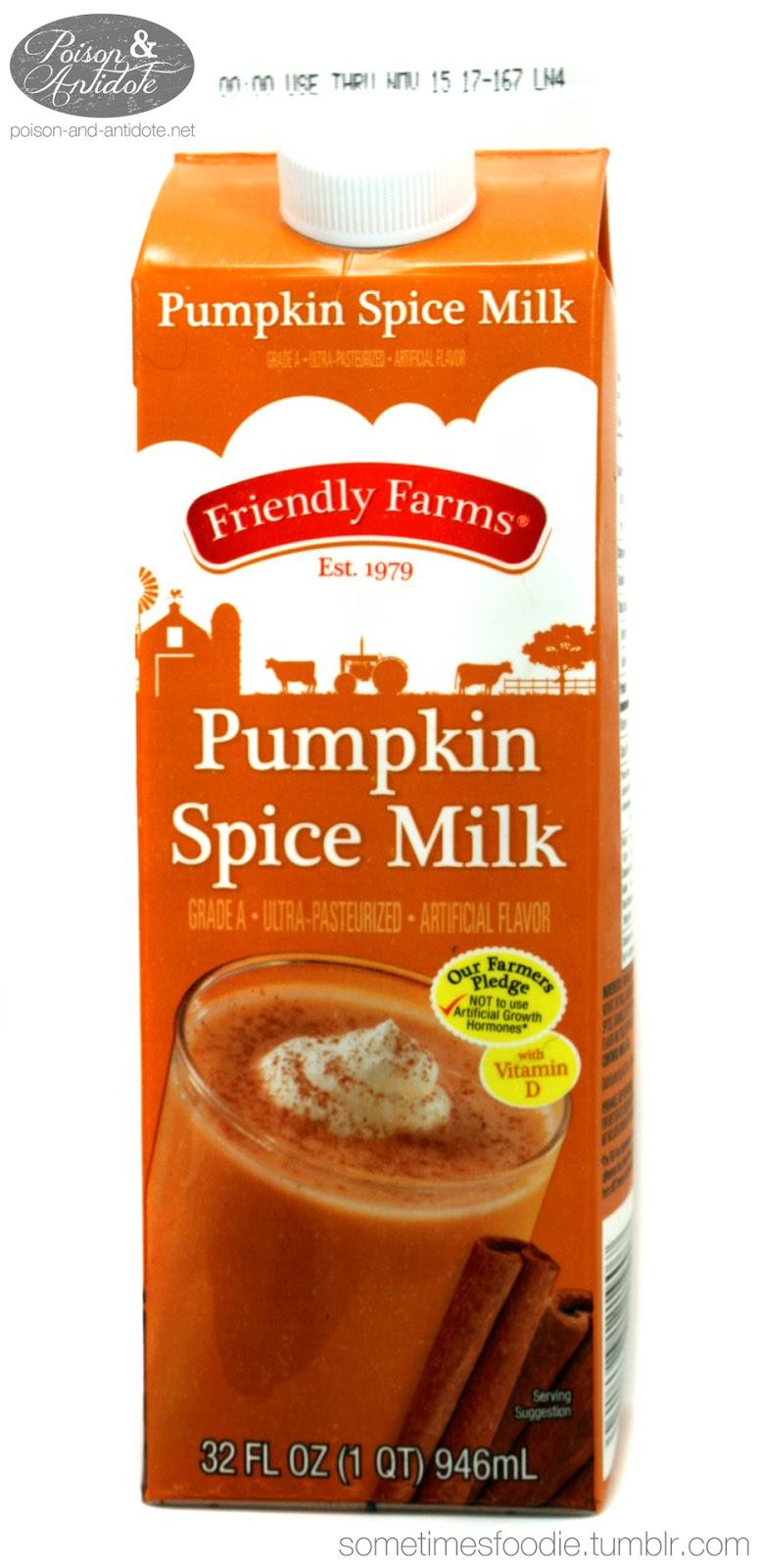 how to make pumpkin spice milk
