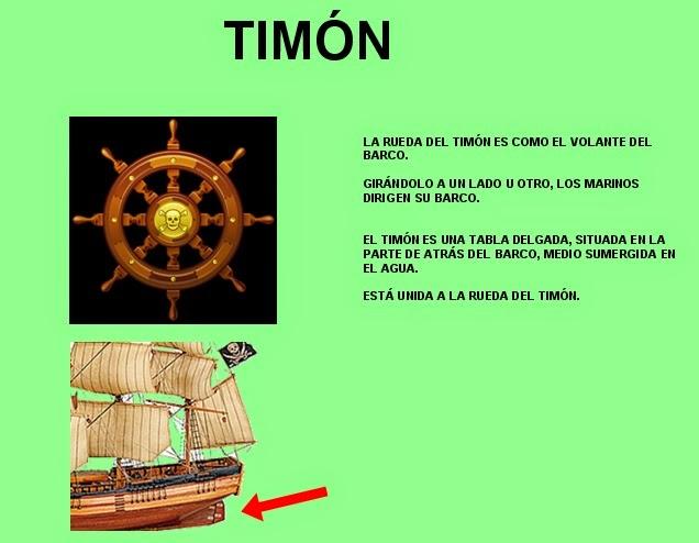 Peques 2013 partes del barco pirata - Todo sobre barcos ...