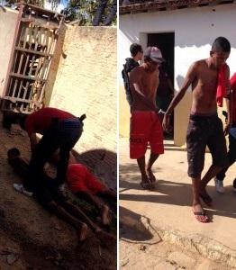 Polícia prende dupla acusada de arrombar e furtar creche em Nova Floresta