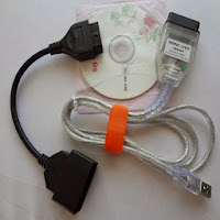 minivci toyota diagnose software with odb2 Dongle