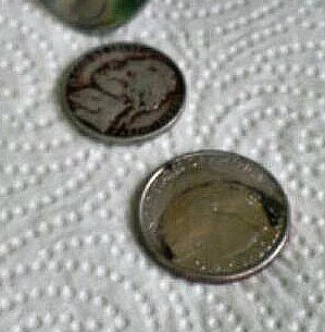 penny shiners experiment 2