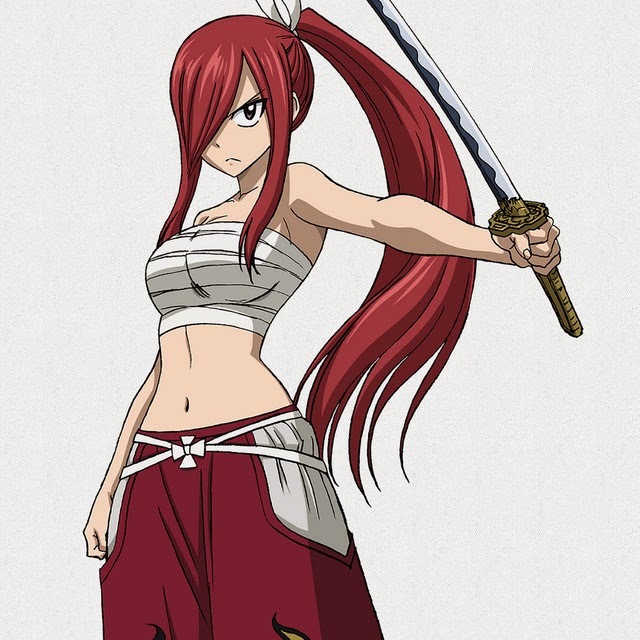 Erza Fairy Tail New Character Design and Promotional Video