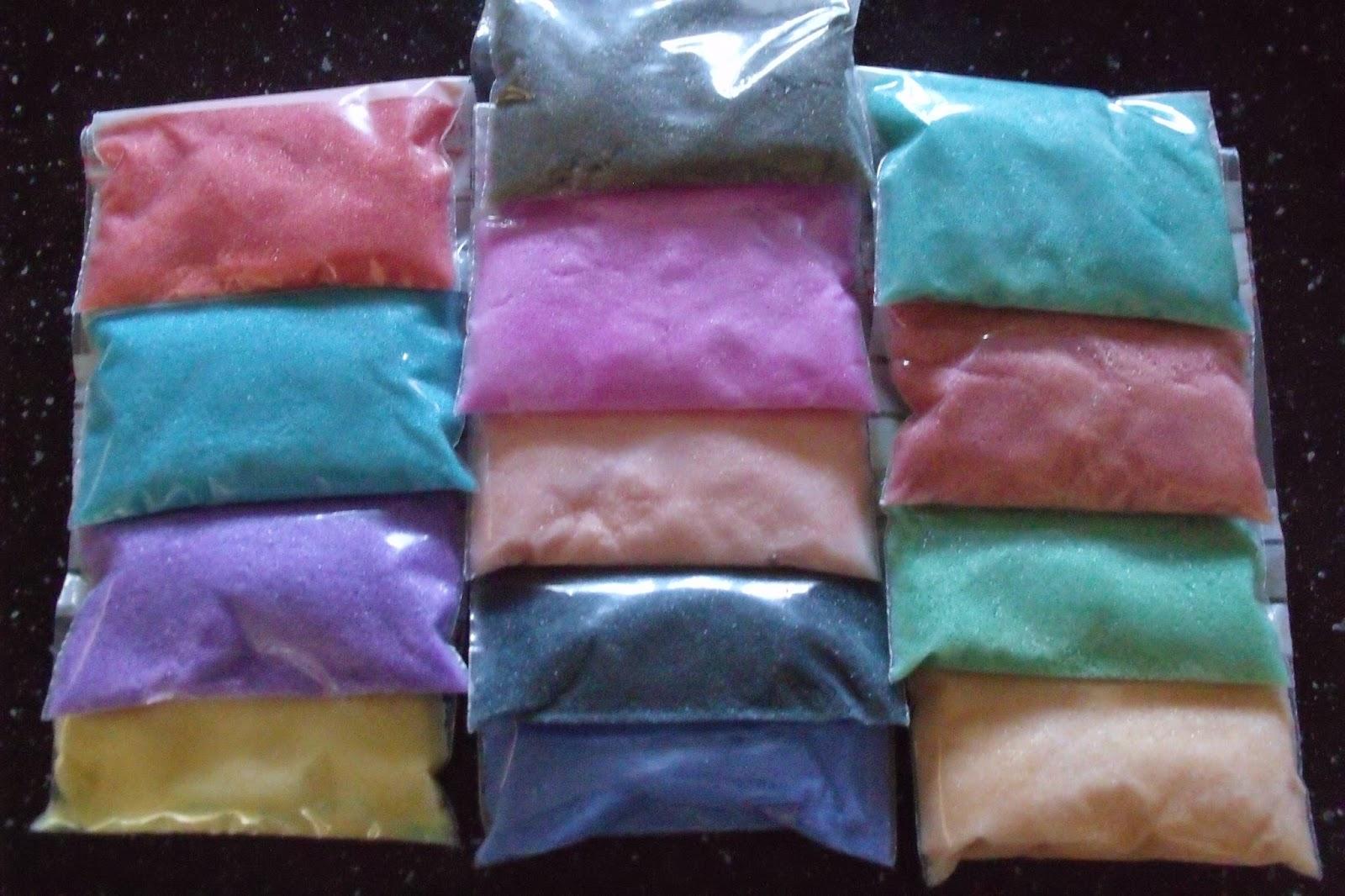 ma fille vu du sablimage chez le marchant de jouets mais 20 euros la boite a fait mal du coup je me suis entrepris de lui en fabriquer - Sable Colore