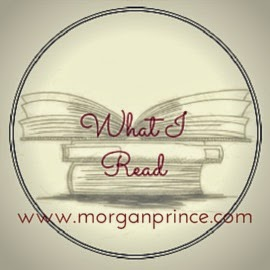 Morgan's Milieu | What I Read 12: What I Read badge, a circle with three piled books.