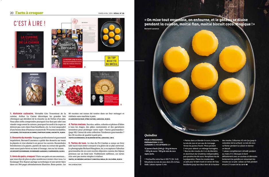 la cuisine de bernard : la revue de presse