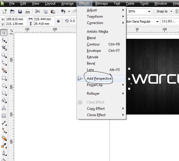 Cara Membuat Watermark Menggunakan CorelDraw - Ahliponsel.com