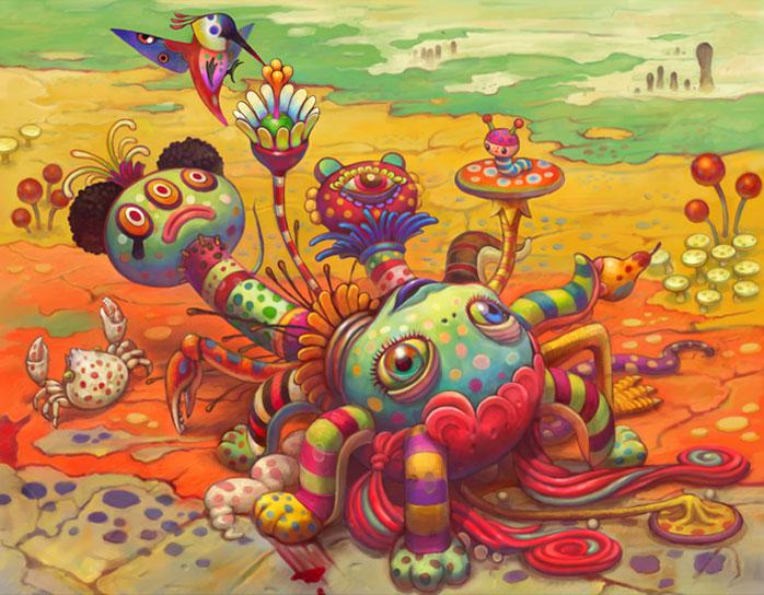 Terra Incognita The Psychedelic Art Of Yoko DHolbachie
