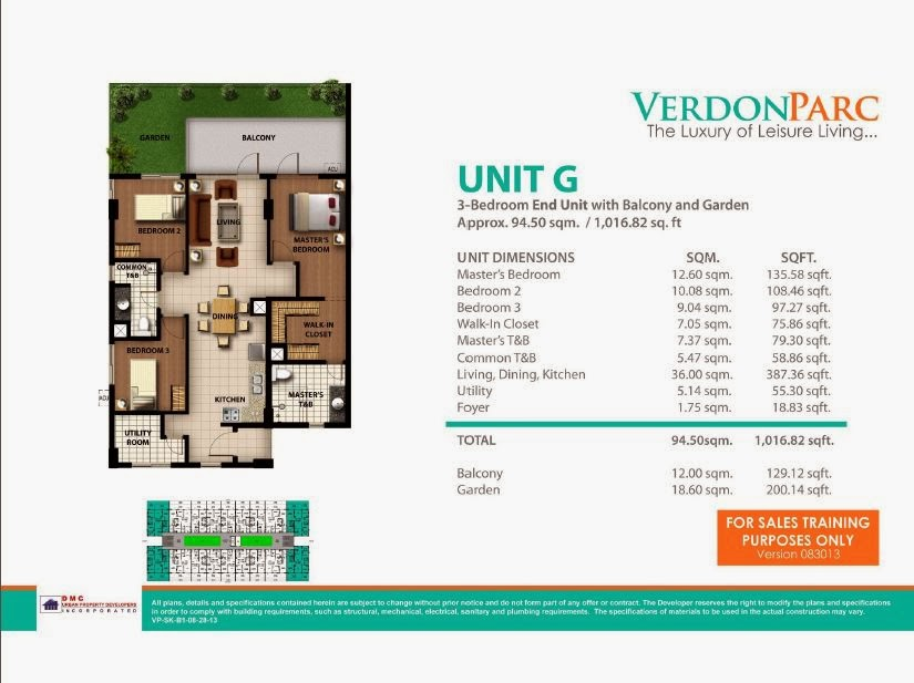 Verdon Parc Davao Unit G