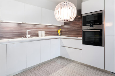 Dapur Minimalis Warna Putih 4