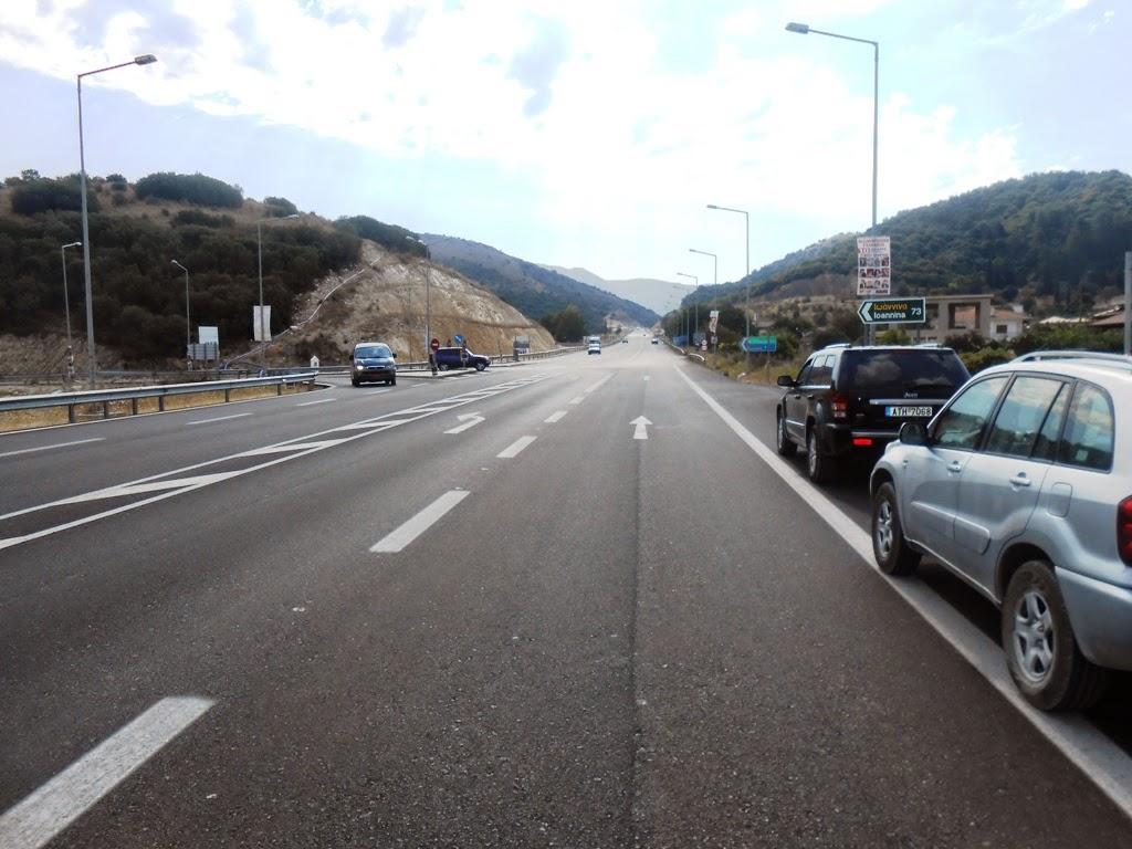 ΠΡΟΣΟΧΗ – Κυκλοφοριακές ρυθμίσεις στον κόμβο εισόδου για Πάργα