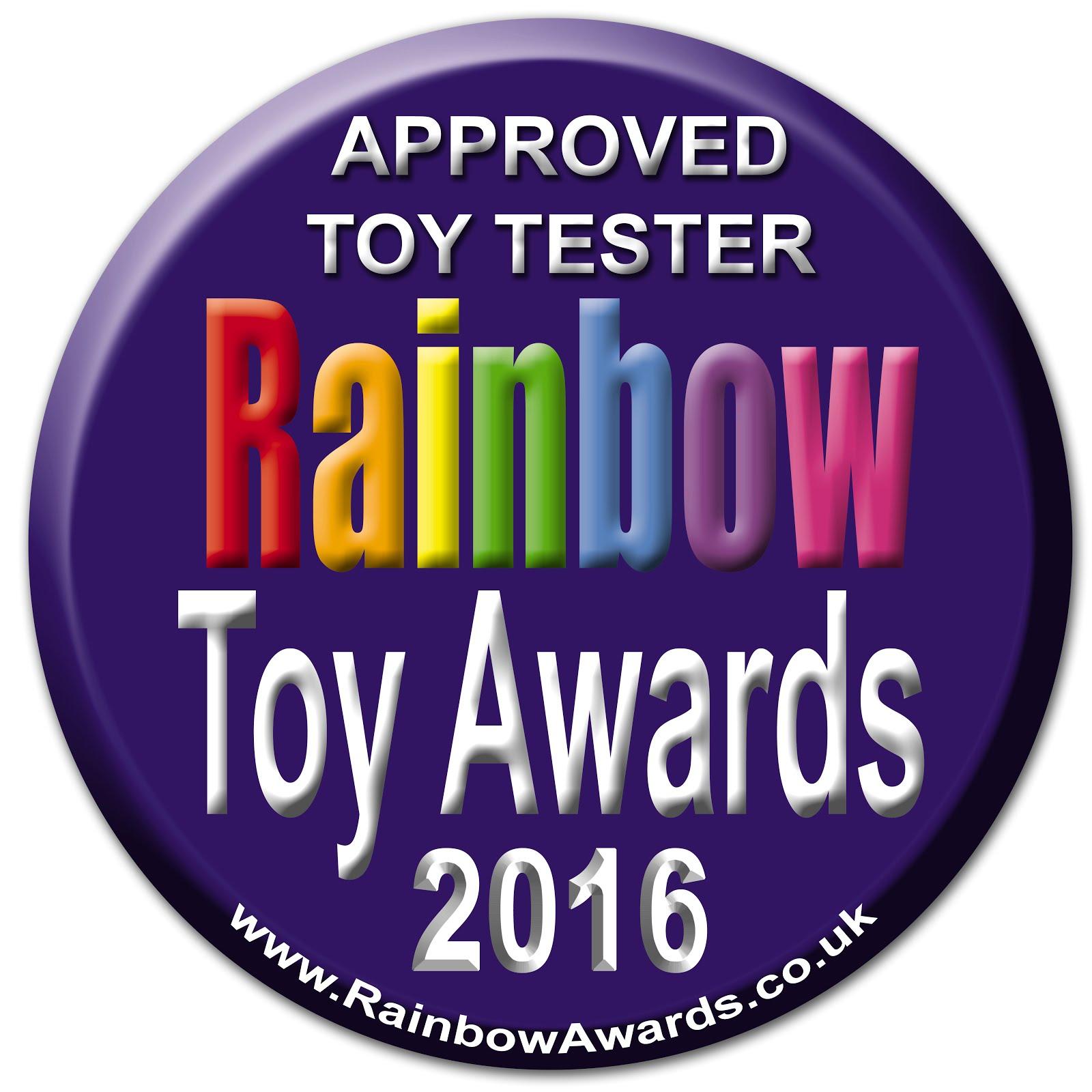 Rainbow Toy Tester 2016