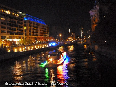 fetival of lights, berlin, illumination, 2012, Lightship