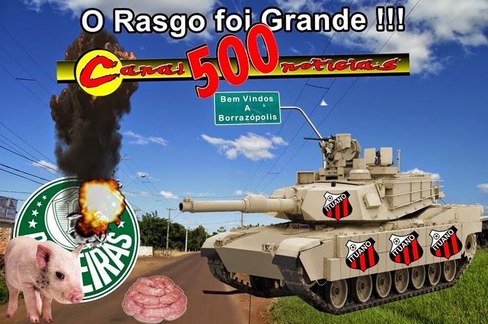 Palmeiras eliminado do Paulista 2014