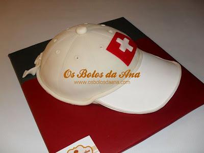 Bolos Chapeu do Benfica, Bolos Chapeus, Bolos Bones, Bolos Futebol, Bolos Decorados Futebol, Designer de Bolos, Cake Designers