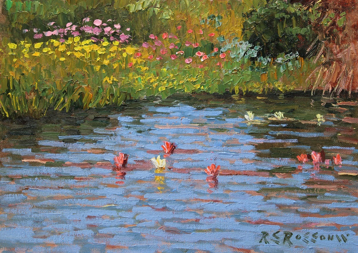Roelof Rossouw A Cape Lily Pond