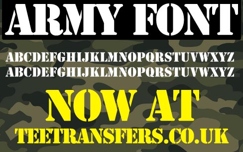 army letters